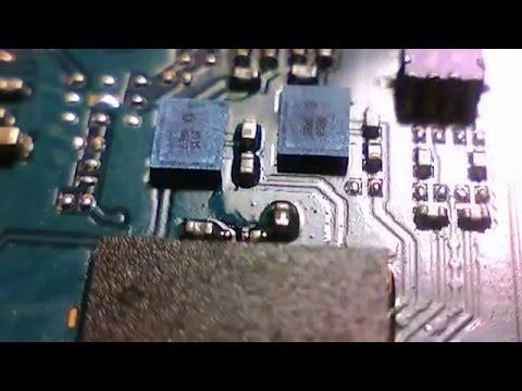 Ремонт ZTE V815W Не ловит сеть