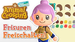 ALLE FRISUREN FREISCHALTEN! | Animal Crossing New Horizons 🌟 Tutorial