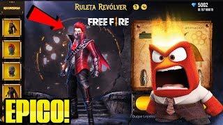 ¡ASÍ FUNCIONA EL NUEVO EVENTO WEB RULETA REVOLVER EN FREE FIRE! NO VAS A CREER MI SUERTE!! *Épico*