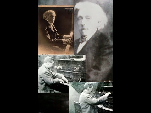 Edouard Risler Plays Beethoven-Godard(c.1917)& Loius Diemer Plays Chopin:Nocturne in Db(re.1903)
