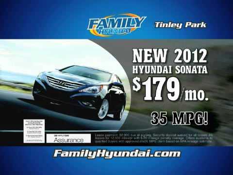 2012 Hyundai Sonata Sale | Family Hyundai Sales Event | Tinley Park Hyundai  Dealer Event