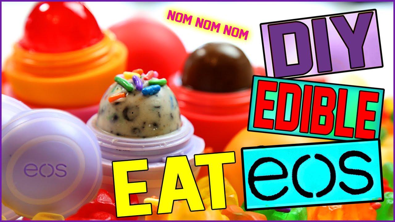 Diy Edible Eos Eat Your Eos Delicious Eos Treats Youtube