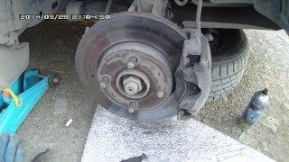 Замена передних колодок на Ford Fusion