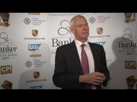 Peter England, CEO, RAKBANK: BME Industry Awards 2017
