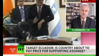 Revenge over Assange? US oil companies attack Ecuador