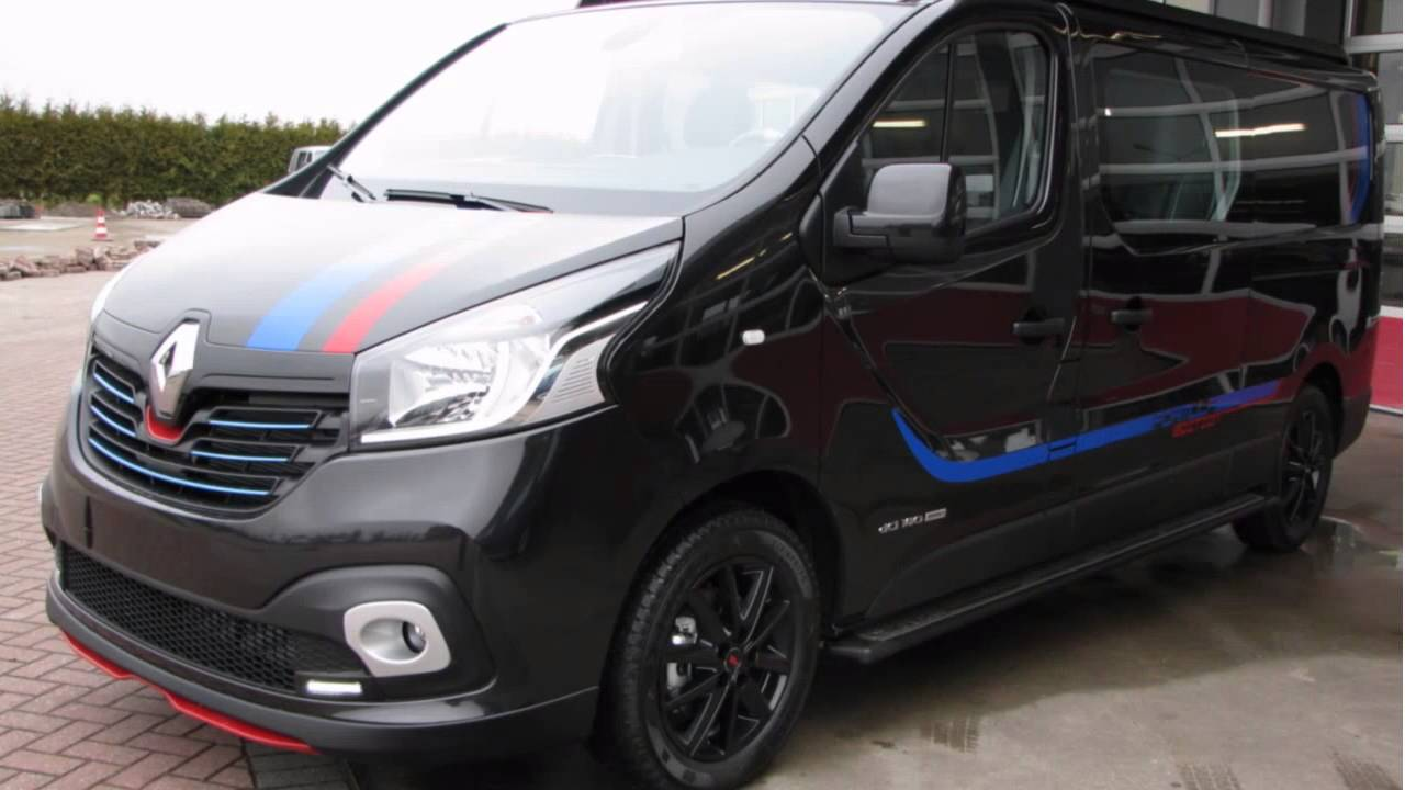 renault trafic 1 6 dci t29 l2h1 dc formula edition energy youtube. Black Bedroom Furniture Sets. Home Design Ideas