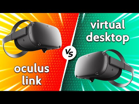 Oculus Link Vs Virtual Desktop | The Best Way To Play Half-Life Alyx On The Oculus Quest