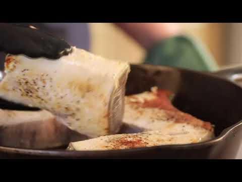Lemon Garlic Swordfish Recipe Video