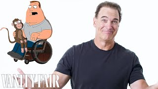 Patrick Warburton (Joe Swanson) Reviews Impressions of His Voice | Vanity Fair
