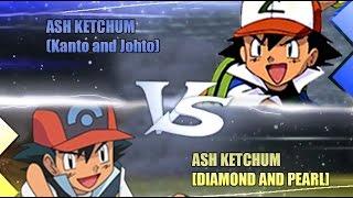 Pokemon Omega Ruby & Alpha Sapphire [ORAS]: Ash Vs Ash [Kanto & Johto Vs Diamond and Pearl]