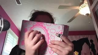 Asmr opening my kawail box tinngels