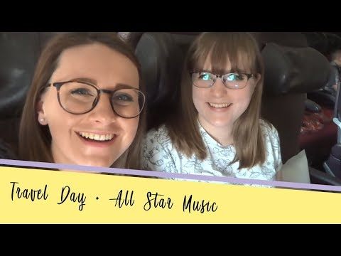 Travel Day + All Star Music Room Tour  Walt Disney World March 2018