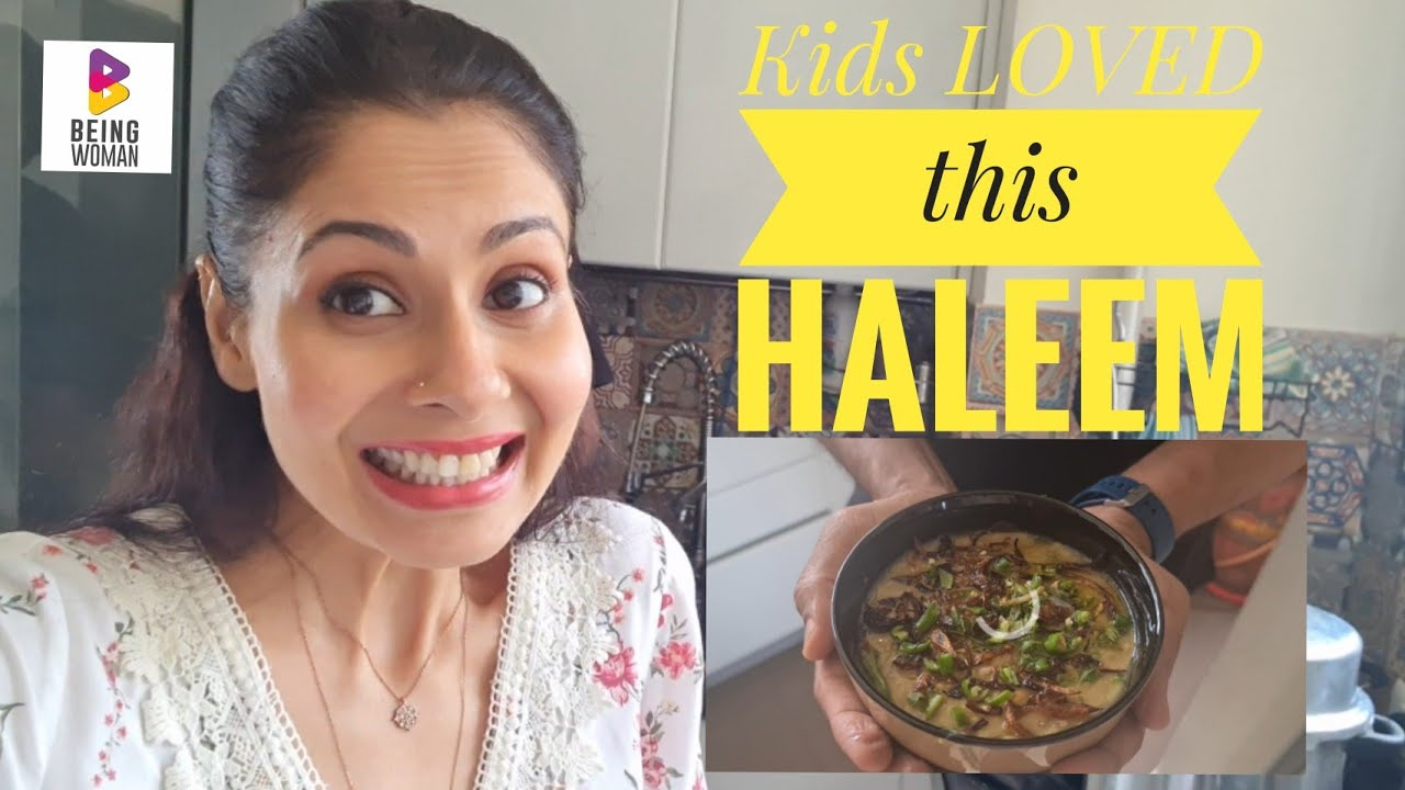 Making HALEEM at home is so EASY | Being Woman With Chhavi | My Recipe
