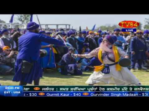 Hola Mohalla at Anandpur Sahib (Sikh festival started by Guru Gobind Singh) - KS Panjoli