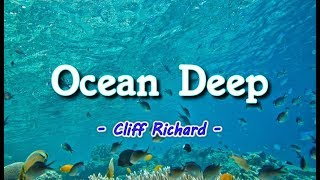 Ocean Deep - Cliff Richard (KARAOKE VERSION)