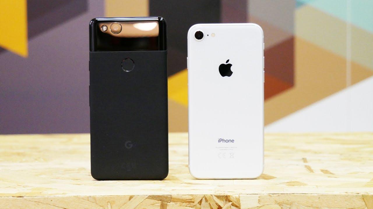 iPhone 8 или Google Pixel 2? Обзор