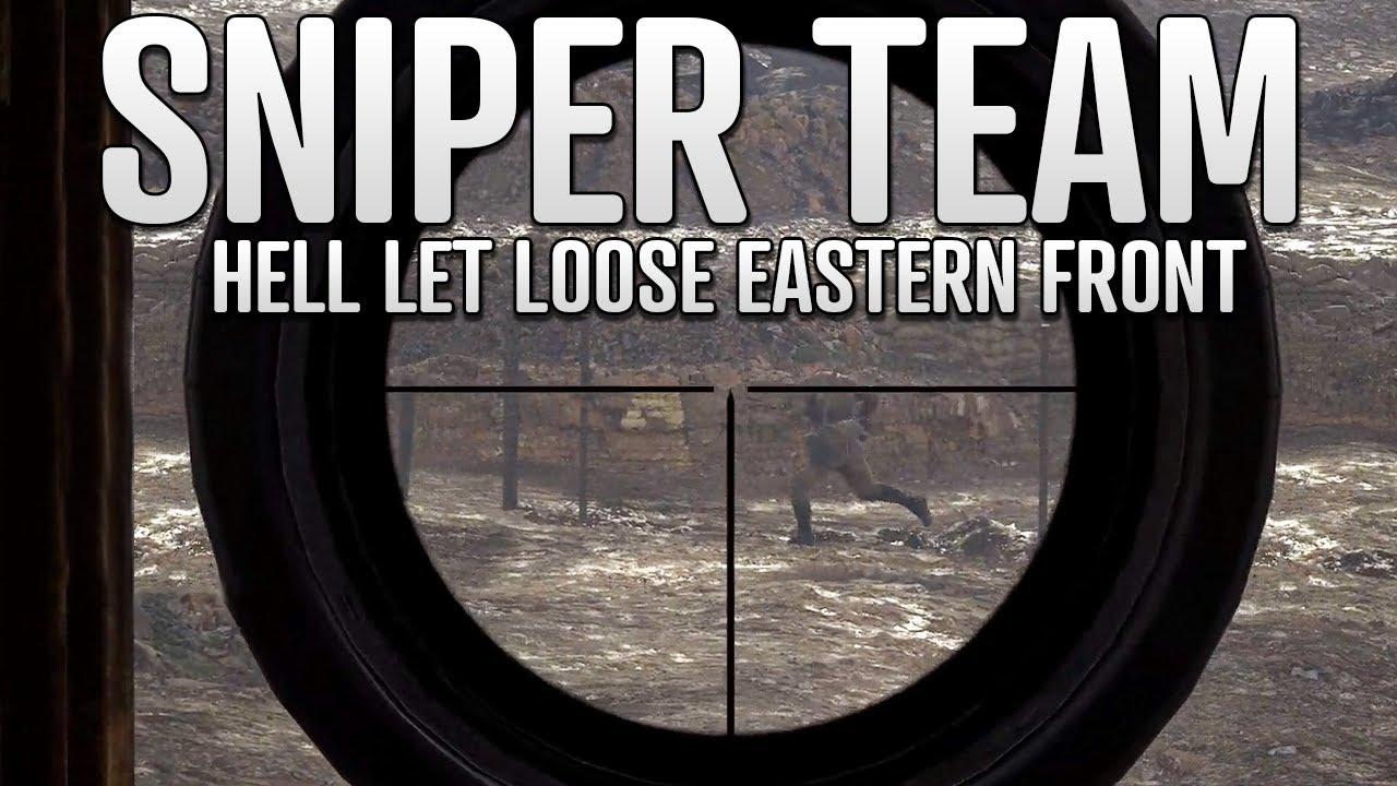 Realistic Stalingrad Sniper Team | Hell Let Loose Eastern Front Gameplay Feat. FriendlyNikolai