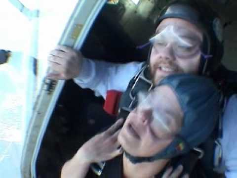 Amy Tracy goes skydiving!