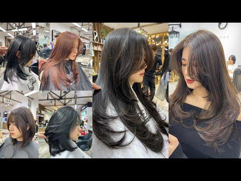 Tổng hợp mẫu tóc  layer dành nữ 2021/BEAN HAIR STUDIO
