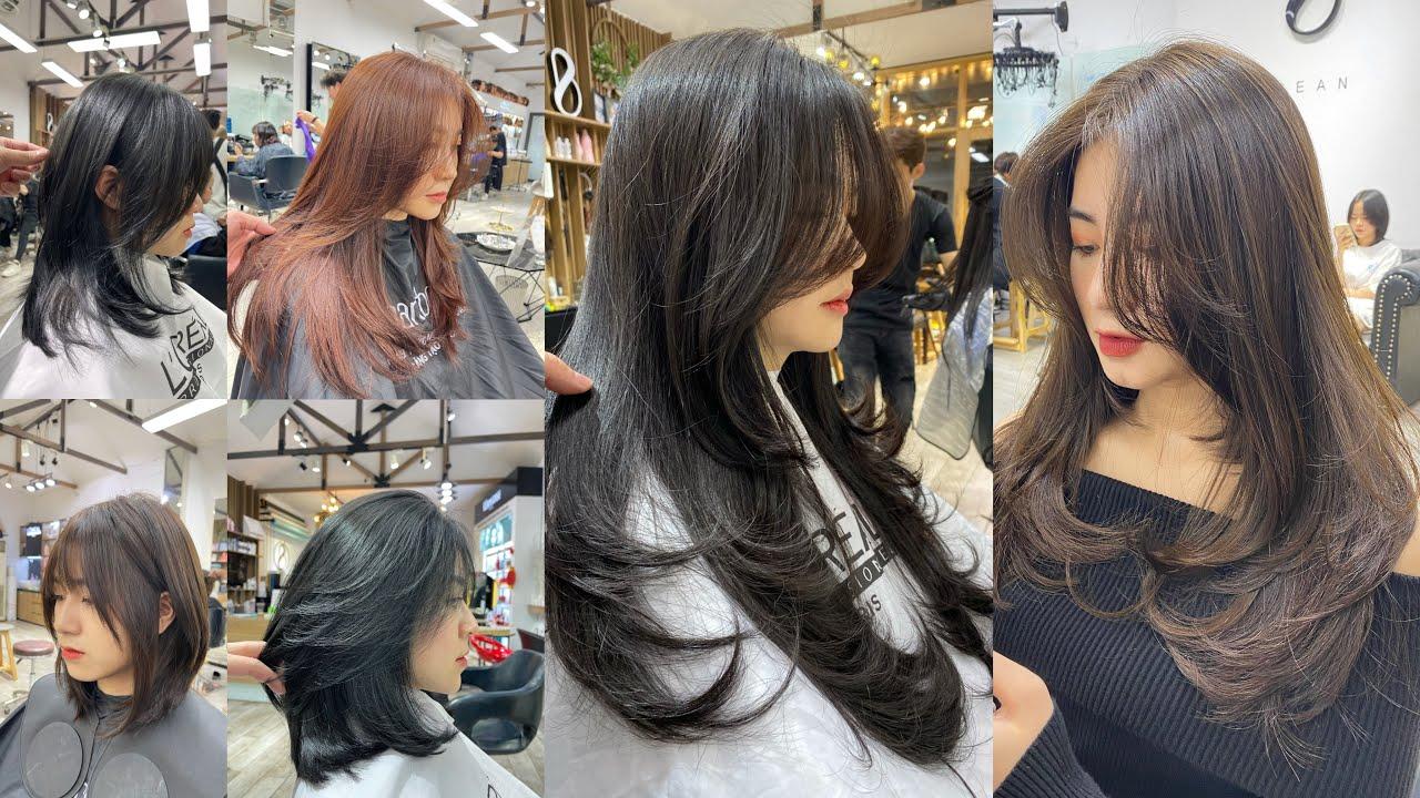 Tổng hợp mẫu tóc  layer dành nữ 2021/BEAN HAIR STUDIO | Tổng hợp những kiểu tóc nữ đẹp mới nhất