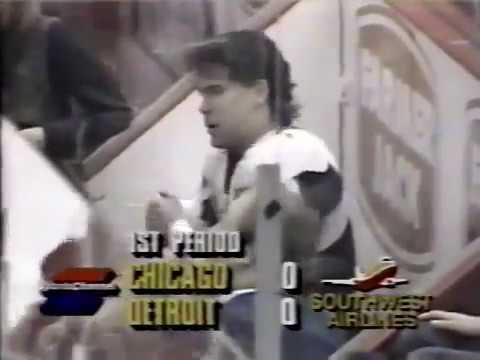 NHL REGULAR SEASON 1993-94 - Chicago Blackhawks @ Detroit Red Wings