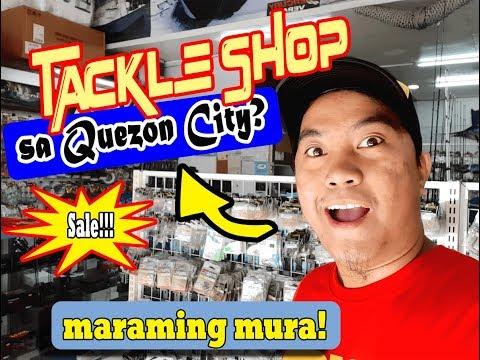 FISHING TACKLE SHOP Sa Quezon City Tackle + Marine Shop