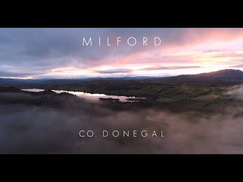 Over the clouds - Milford, Co. Donegal