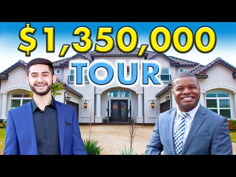 Touring A Million Dollar Luxury Home In Texas