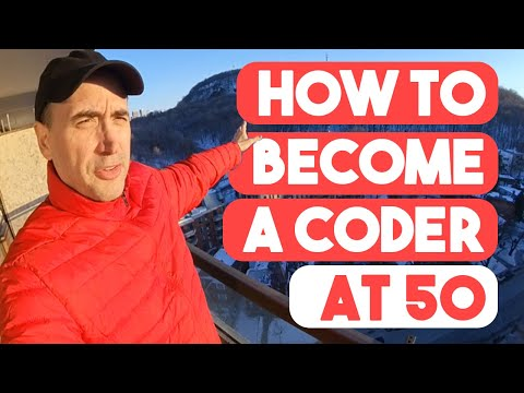 Becoming a coder at 50?