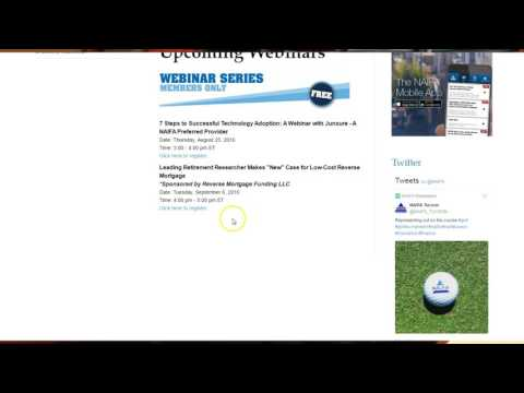 NAIFA Learning Webinars - NAIFA-Los Angeles Educational Series