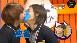 kissing game mblaq mir and b1a4 cnu
