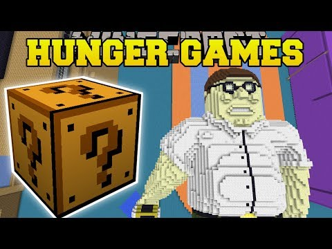 Minecraft: FAMILY GUY FAMILY ROOM HUNGER GAMES - Lucky Block Mod - Modded Mini-Game