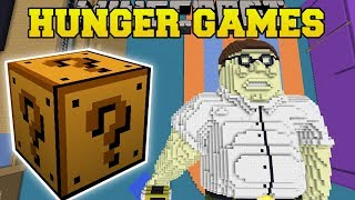 Minecraft: FAMILY GUY FAMILY ROOM HUNGER GAMES - Lucky Block Mod - Modded Mini-Game
