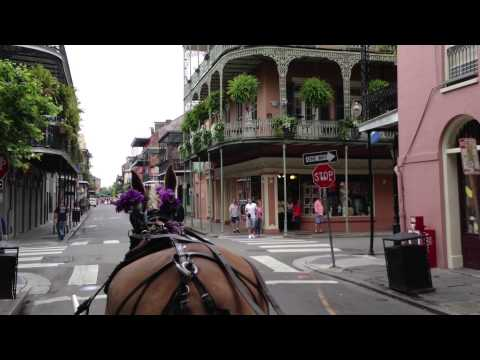 New Orleans Carriage Ride French Quarter