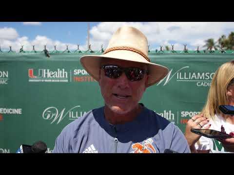 Coach Mark Richt | Post Practice Presser | 8.5.18