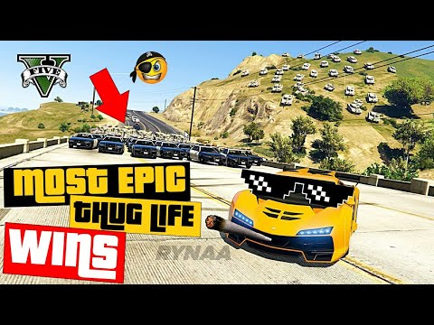 GTA 5 Thug Life #9 Funny Moments [ MOST EPIC WINS ] || Rynaa Gaming