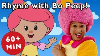 Pop Goes the Weasel and More Rhymes With Bo Peep | Nursery Rhymes from Mother Goose Club!