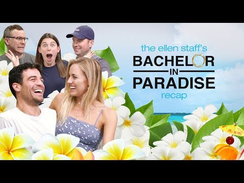 Grocery Store Joe & Kendall Help Break Down Finale in Ellen Staff's 'Bachelor in Paradise' Recap