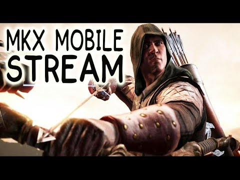 MKX Mobile LIVE Stream + Giveaway. Best Teams for Marksman Kung Jin.
