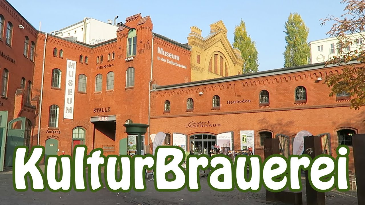 berlin a visit to kulturbrauerei life in east germany youtube. Black Bedroom Furniture Sets. Home Design Ideas