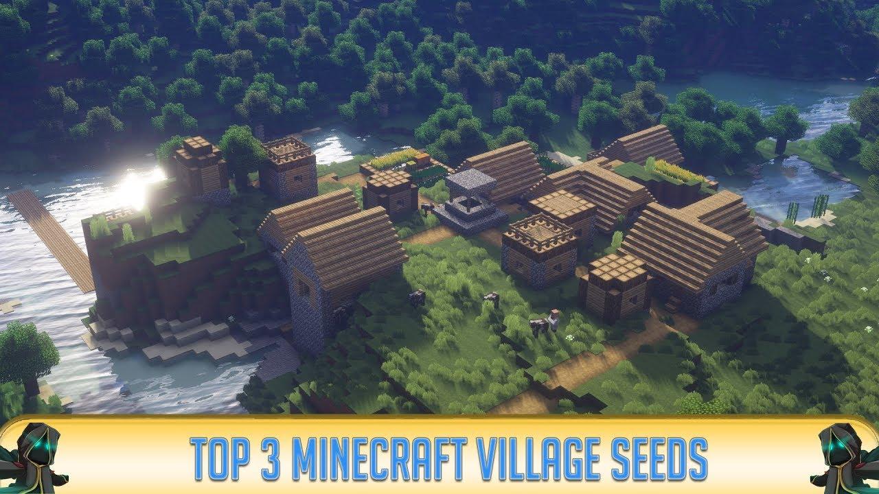 ✔ Minecraft 12.126.12: Top 12 NPC Village Seeds (122)