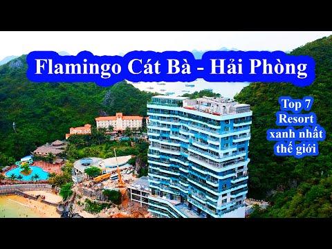 Khám phá Flamingo Cát Bà Beach Resort 💢 Top 7 Resort xanh nhất thế giới  💢 Flamingo Cát Bà flycam