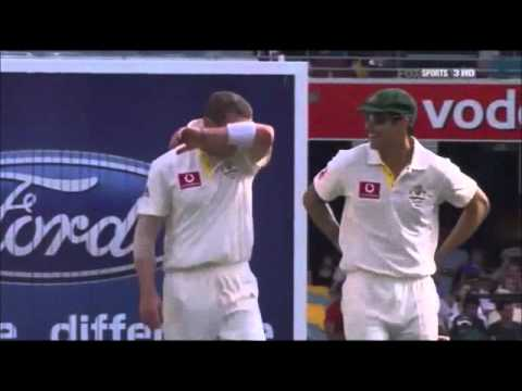 Peter Siddle Hattrick (Ashes 2010)