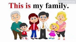 Урок 11 Англійська мова 2 клас. My family Частина 2