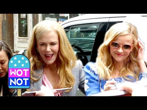 Nicole Kidman, Reese Witherspoon Big Little Lies Season 2 Premiere, NYC