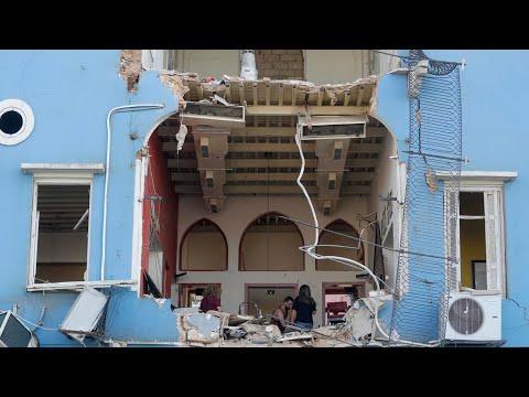 Beirut port officials under house arrest after blast