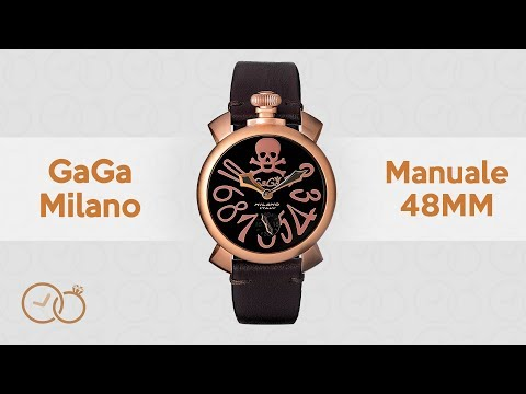GaGà Milano Mechanical Watch Manuale 48MM Art Collection 5011