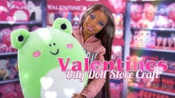 DIY - How to Make: Valentines Day Doll Store PLUS Printable Valentines Day Cards