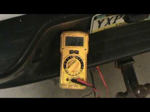 how to charge your trailer's battery while towing
