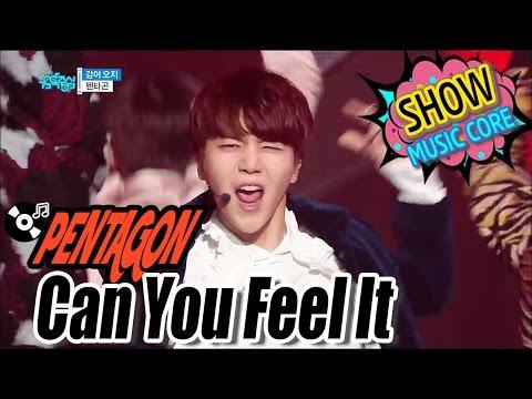 [HOT] PENTAGON - Can You Feel It, 펜타곤 - 감이 오지 Show Music core 20170114
